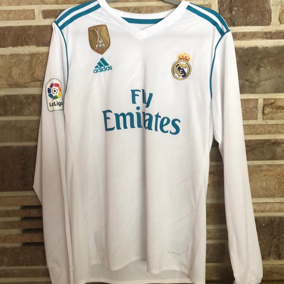 the best attitude f510d f422d Gareth Bale Real Madrid Long Sleeve Jersey